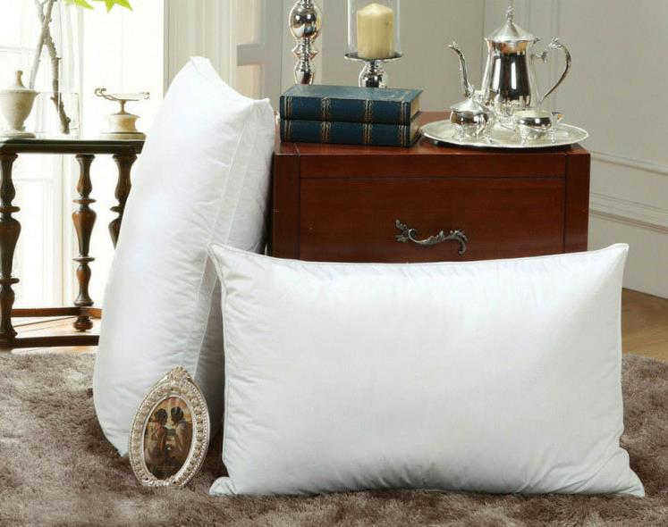 King Size Hotel High Quality Soft Down Feather Hand Feeling Smooth Face Cradle Travel Sex Pillow Pos