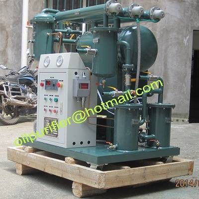 new Single-stage Vacuum Oil Purifier.Insulation Oil Filtration Plant