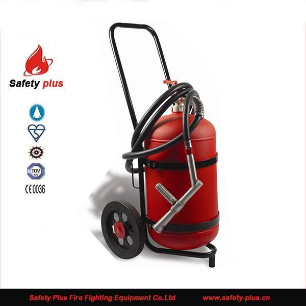 25kg abc dry powder Trolley fire extinguisher