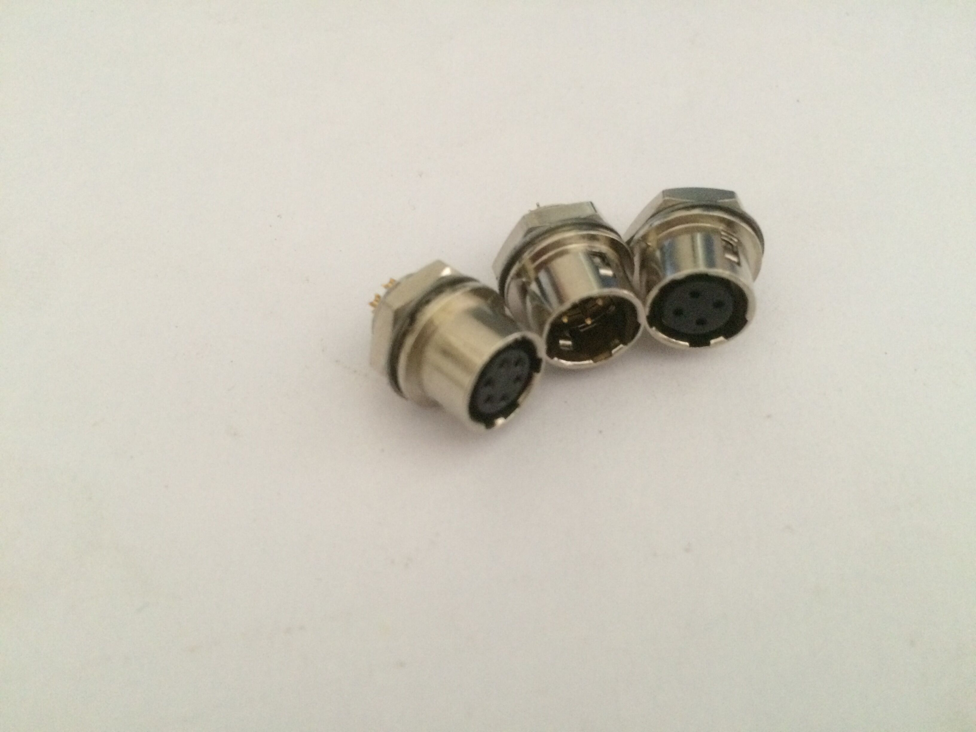 Push Pull circular connectors Hirose 7 pin male female socket HR10A-7R-4S