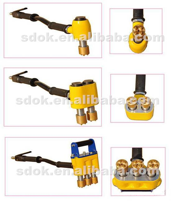 OK-1B Spike Hammer with Reliable Quality,Heavy Duty Scabbler,concrete floor scabbling machine