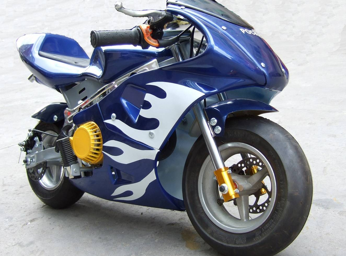 49cc pocket bike Hi-Q