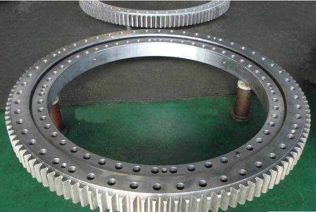 External Gear tower crane turnable bearing Slewing bearing