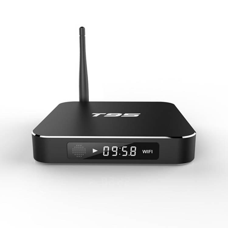 android 5.1 smart network TV box aluminum shell Internet IPTV
