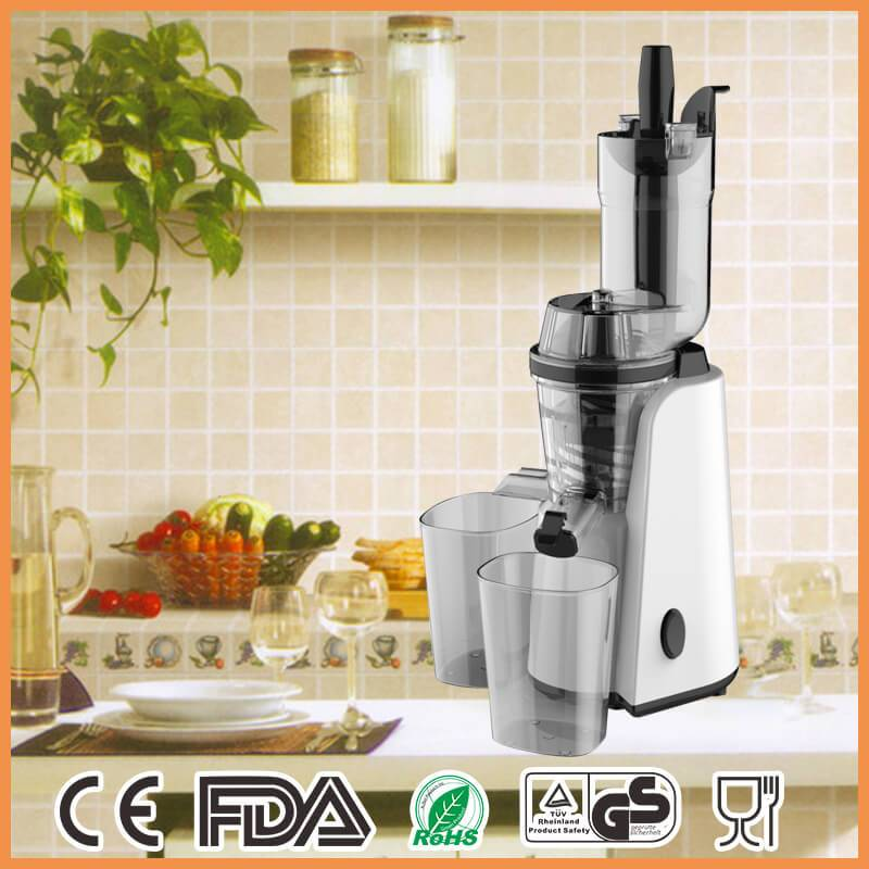BPA Free78mm Big Mouth Low Noise Electric Whole Fruit Slow Juicer