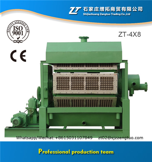 Good performance automatic egg tray machine production line