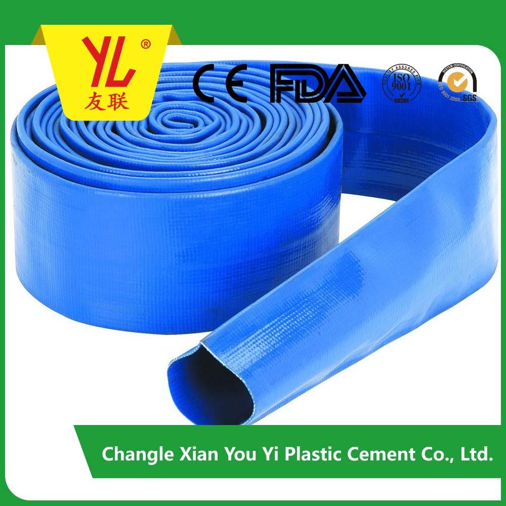PVC lat flat irrigation hose