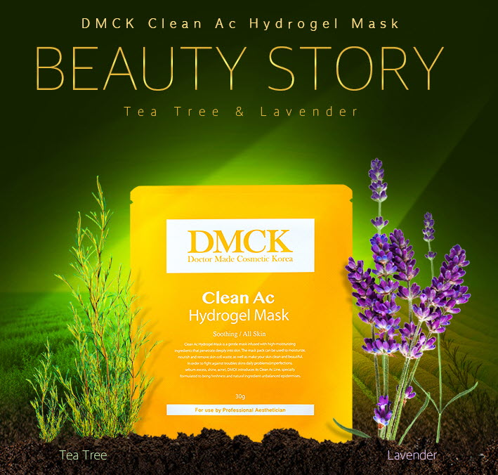 DMCK Clean Ac Hydrogel Mask - innovative essence gel mask for problem skin