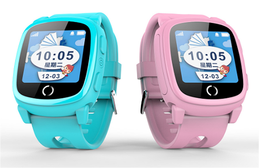 Firstsing MT2503D SOS Children Kids Anti Lost GSM Smart Watch Phone LBS Positioning for Android IOS