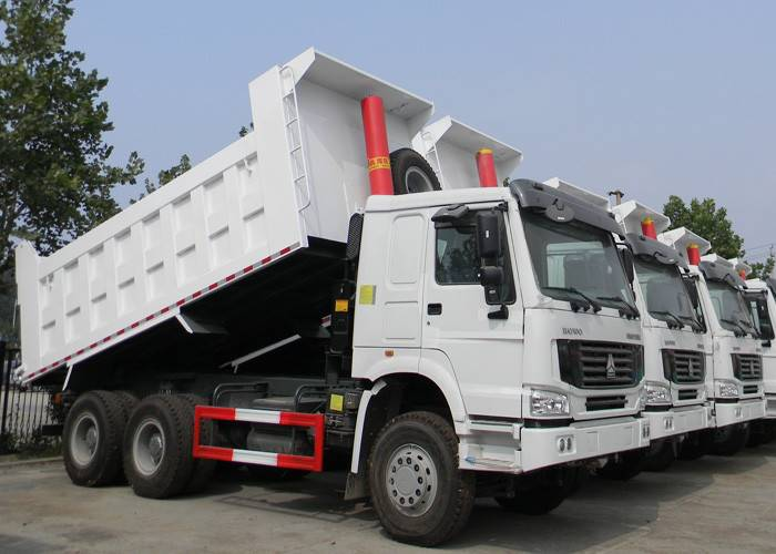 sinotruk hong kong howo dump truck