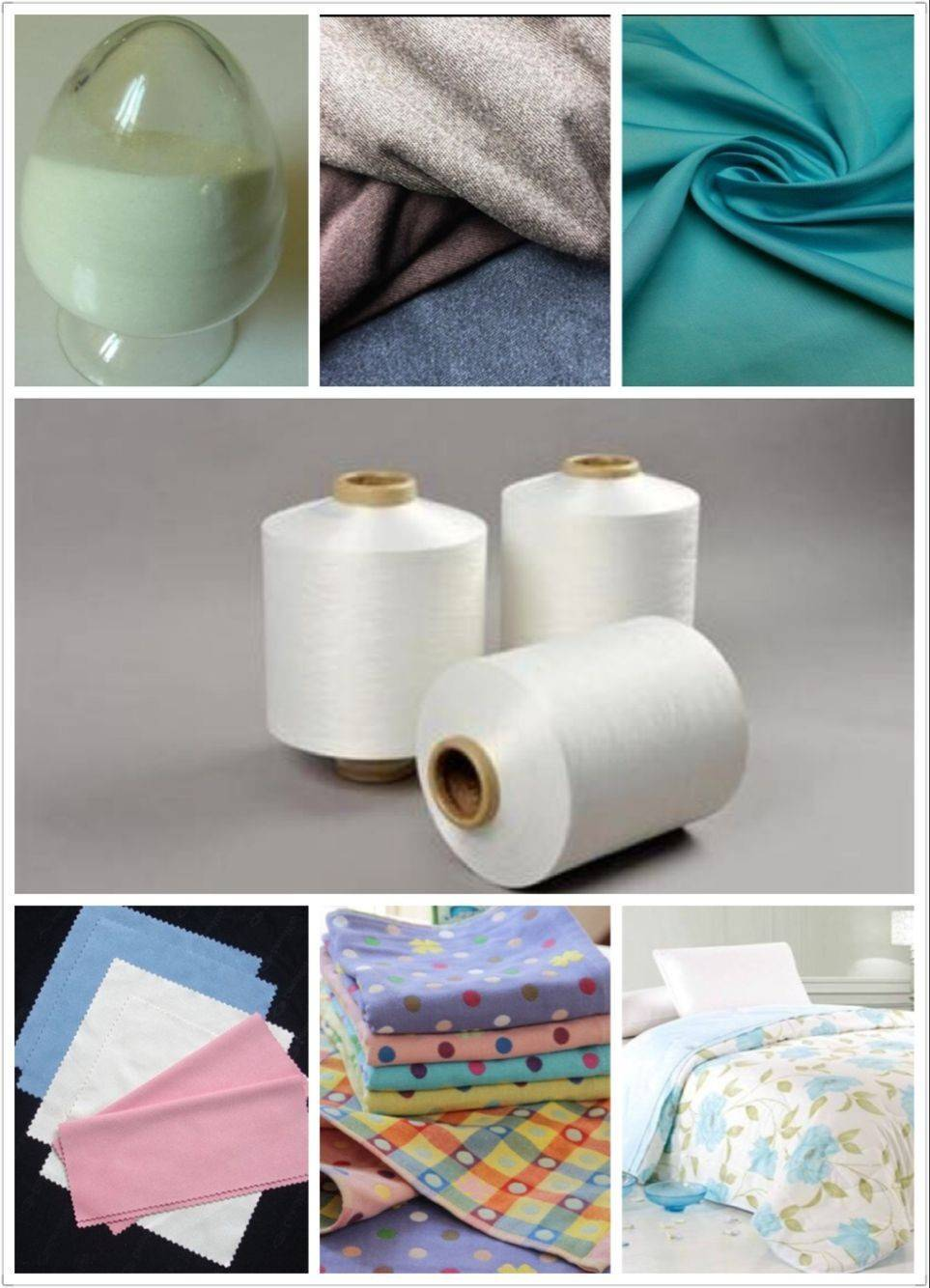 DTY Cationic N/P Microfiber Yarn High colorfastness Brighter Color Hygroscopic and anti-static abili