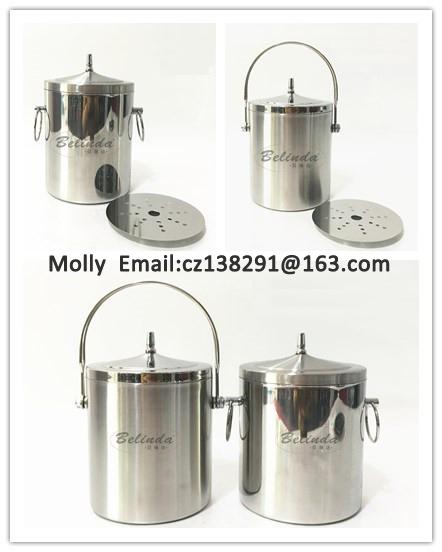 Barware ice buckets for bar ice use