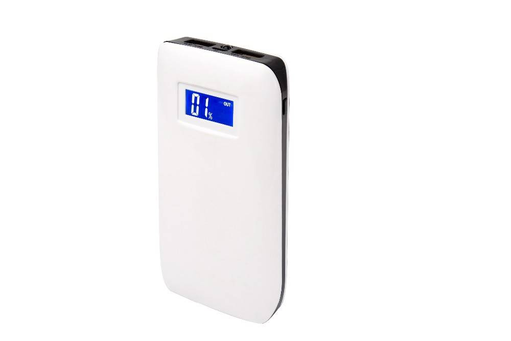 Private model with digital display screen 4500mAh power bank with one year warranty
