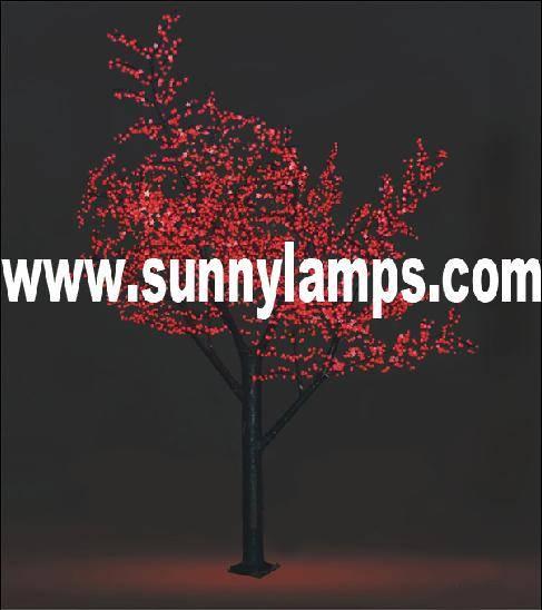 LED cherry tree light