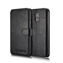 2015 hot selling wallet leather for Samsung galaxy S5 case , for Samsung galaxy S5 cover