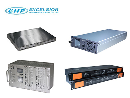 Metal enclosure for any electronic equipment