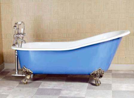 Clawfeet cast iron bathtub