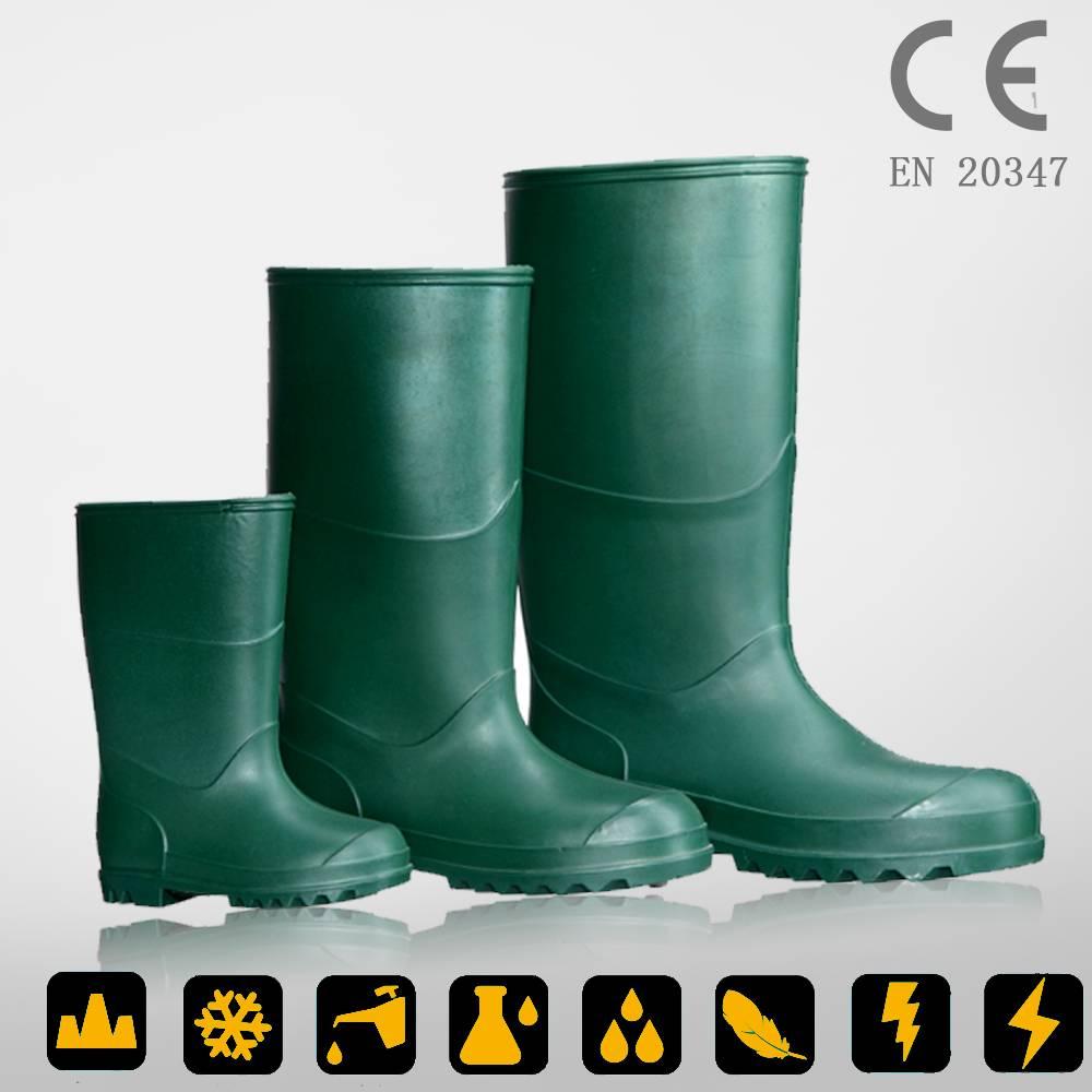 CE standard PVC farming boots