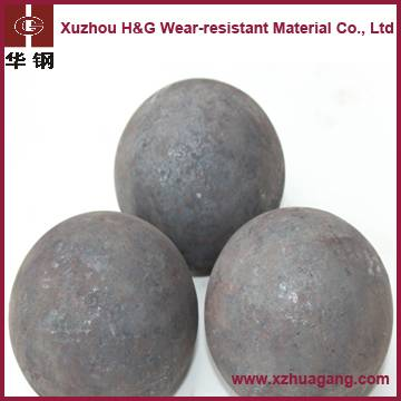 No breakage steel ball for ball mill grinding