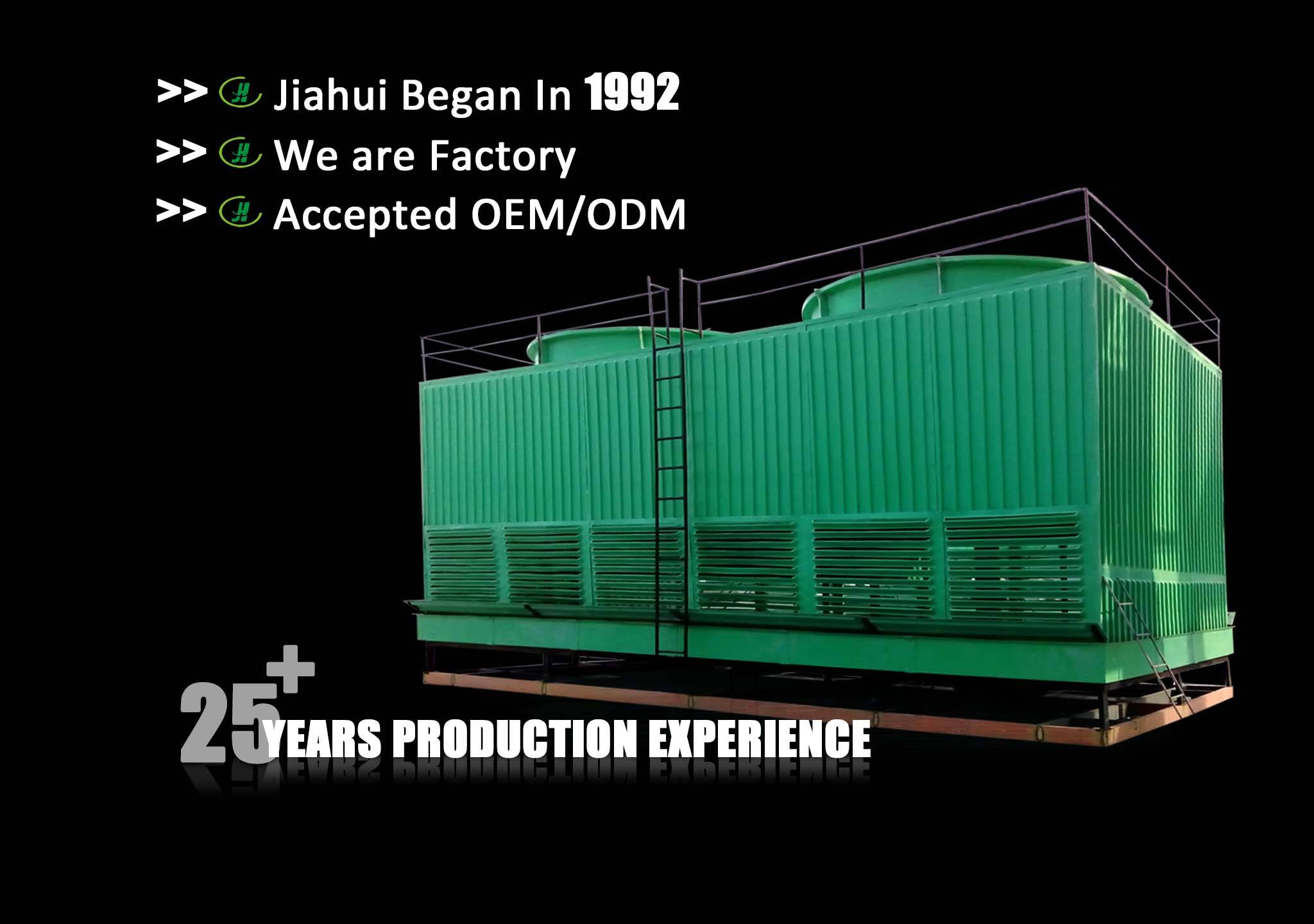 water cooling tower/frp cooling tower/mini cooling tower/small water cooling treatment