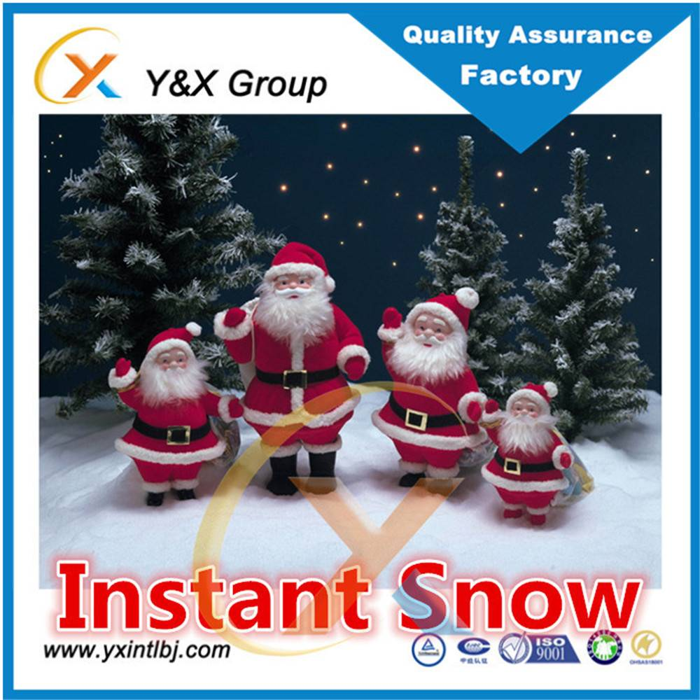 Christmas deco artificial magic instant fake snow