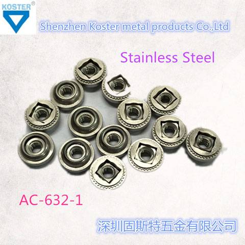 AC-632-1 Stainless Steel Fastener Float Control Nut