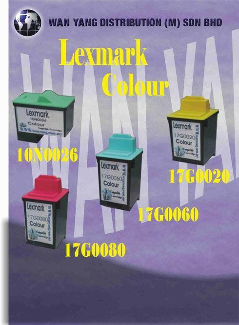 Lexmark Compatible Inkjet Cartridge 10N0026