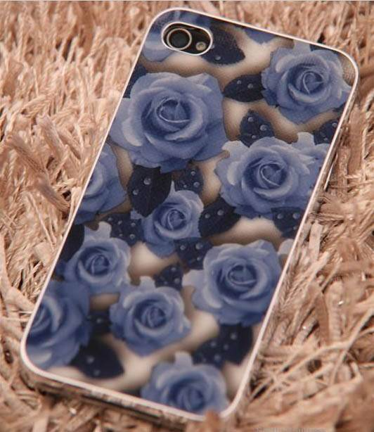 Rose pattern matte protective case for iphone 4 4S Electroplating metal bumper