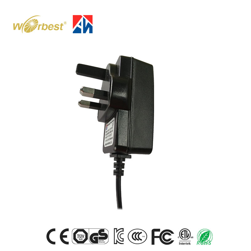 shenzhen power supply Factory AC DC adapter 12v 1a with EU UK US AU plug