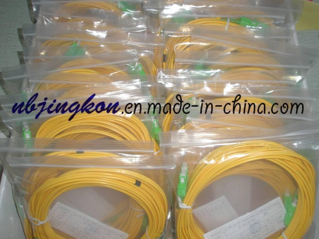 SC/APC Fiber Optic Patch Cord-Duplex, 3.0mm-Corning Fiber(G.652.D)