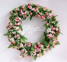 Artifical Green Plant & wreath for Christmas decoration
