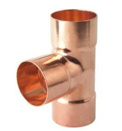 Copper Equal Tee (copper tee, copper fitting, tee)