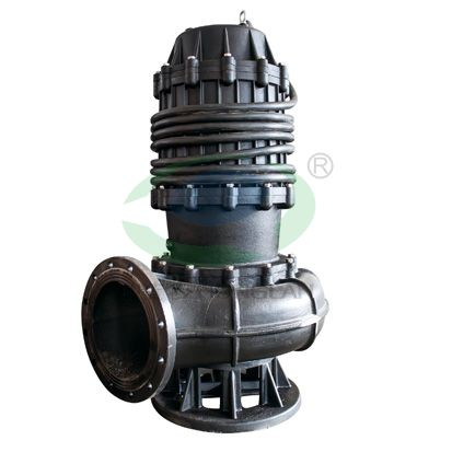 Incised sewage pump