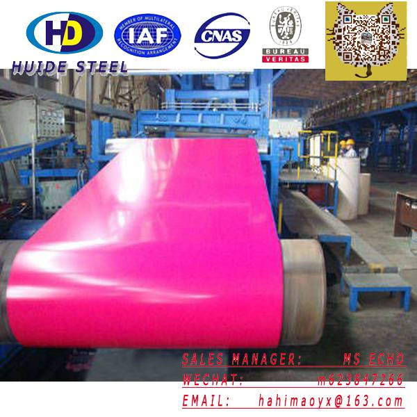 Coated steel coil/PPGI/color steel coil/ppgi steel coil/color coated steel coil
