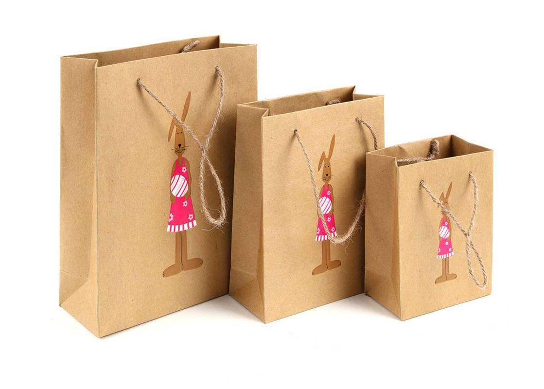 wholesale paper cloth bag with customized printed