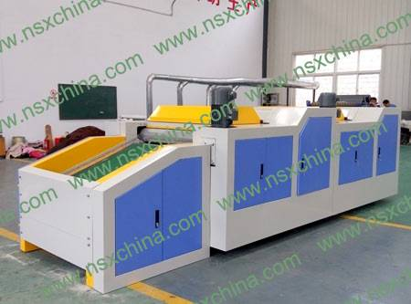 Regenerated fiber combing machine NSX-FS600