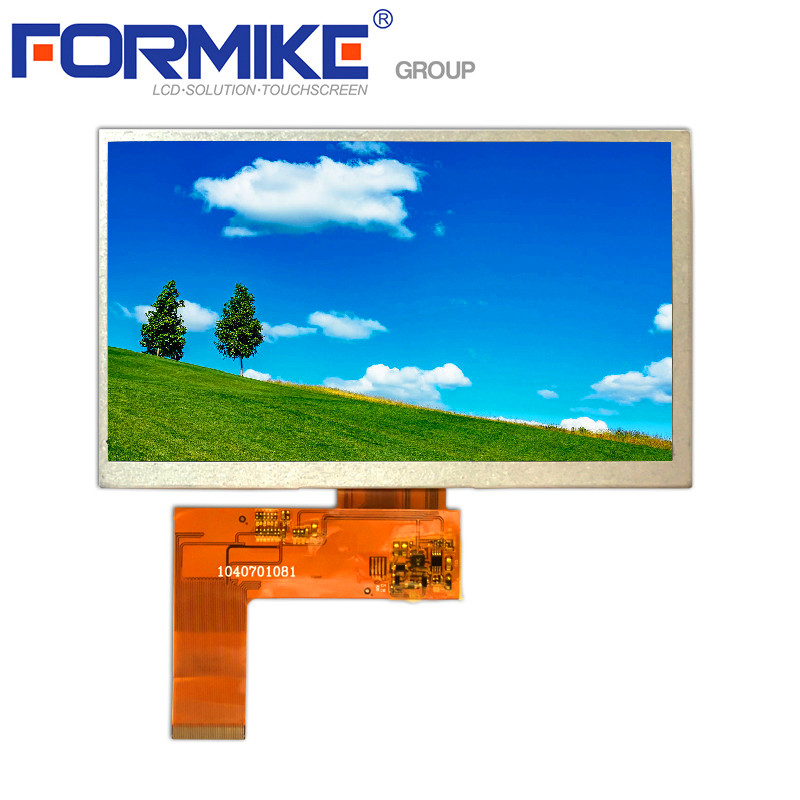 Ce Compliant 800x480 7 inch touch lcd 16:9 High Brightness 24 bit rgb 7 inch tft lcd module