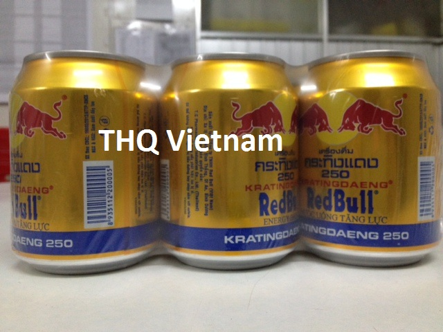 [THQ VIETNAM] Redbull gold can energy drink 250ml