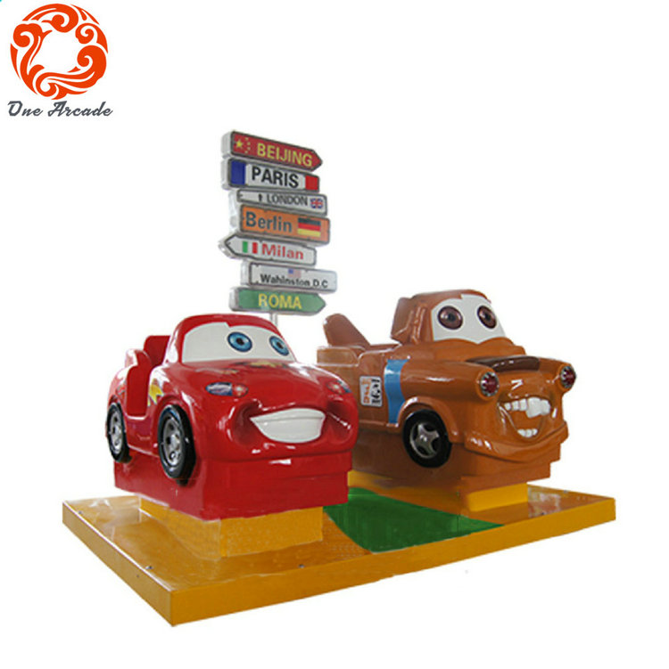 Factroy Outlet Coin Operated Kids Game Machine Cars