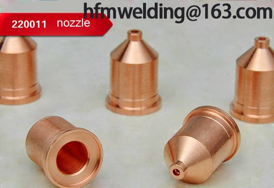 100A Nozzle 220011 for HYPERTHERM power max 1650,plasma cuting welding
