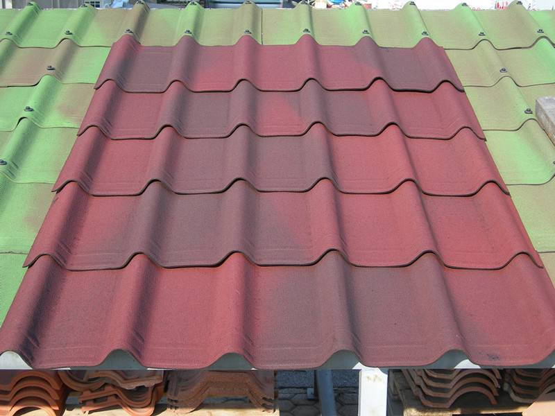 Spanish Resin Roof Tile