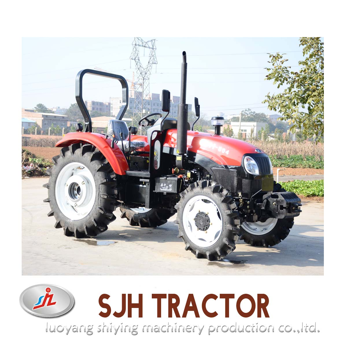 Professional 80hp Farm Tractor for Sale