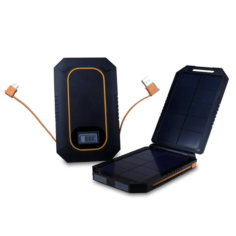 Portable Solar Power Bank 6000mAh WT-S005