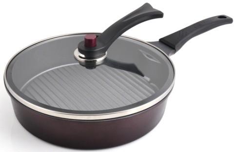 Smokeless Round Grill Pan