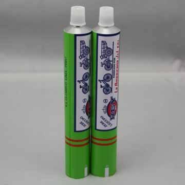 Super glue aluminum tube
