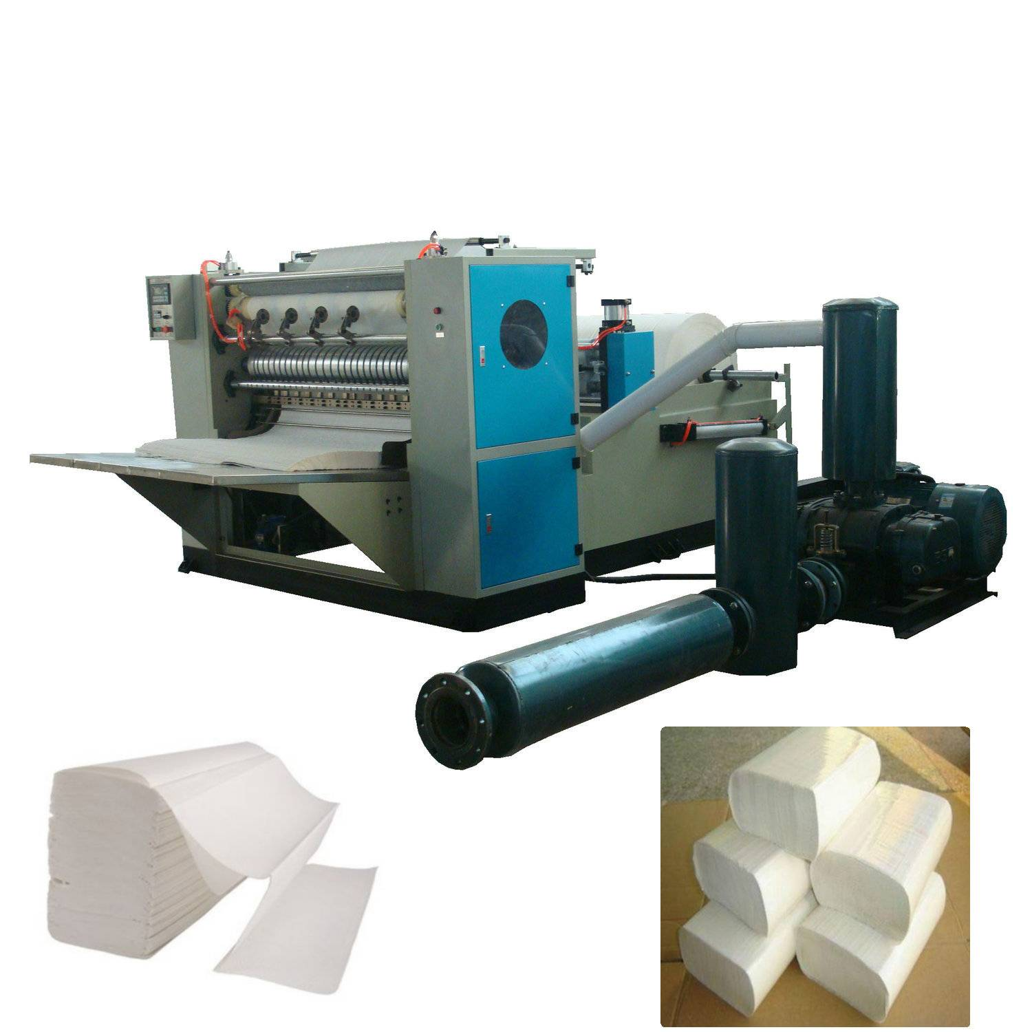 XY-BT-288 N/Z folding hand towel paper making machine