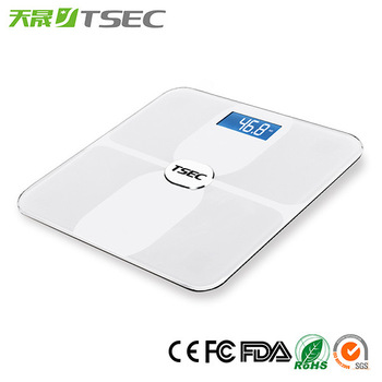 Hotselling Household 6mm Thick Glass Bluetooth Digital Body Weight Bathroom Scale