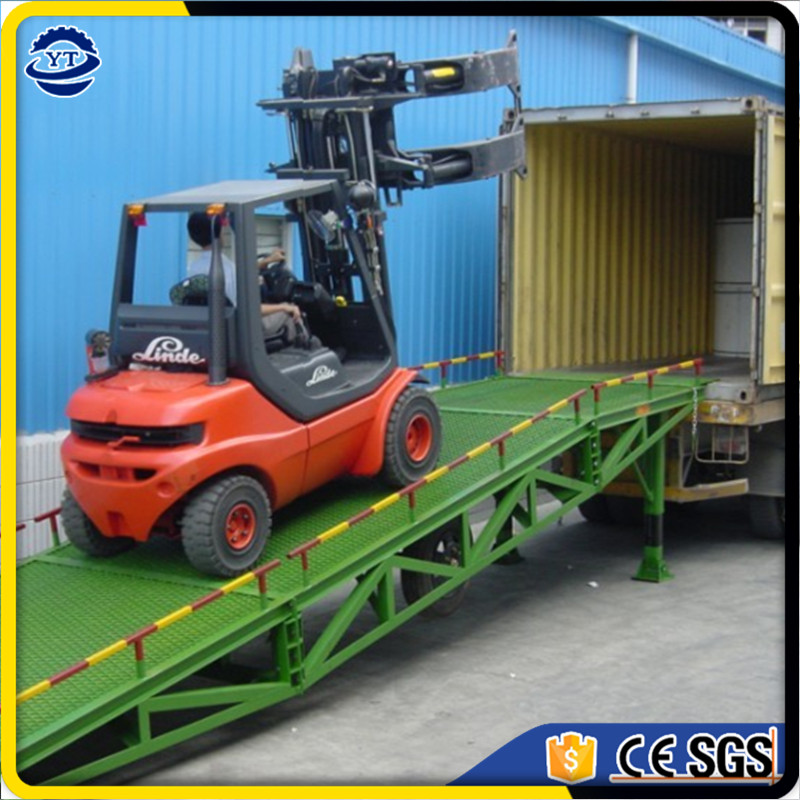 hydraulic mobile adjustable electric container loading dock ramp price