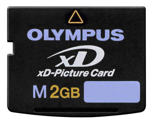 XD memory card for mobile devices