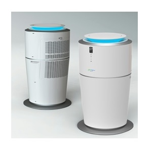 A water-cooled air conditioner